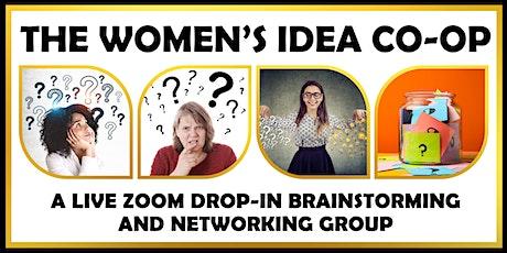 The Women's Idea Co-op:  An Online Intergenerational Advice Circle tickets