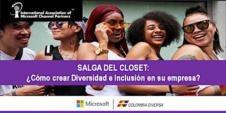 Salga del Closet: ¿Cómo crear diversidad e inclusión en su empresa? boletos