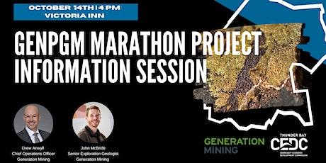 GenPGM Marathon Project Information Session tickets