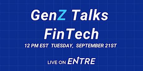 GenZ Talks FinTech tickets