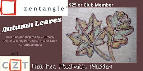 Zentangle® Class: Autumn Leaves (AM) tickets
