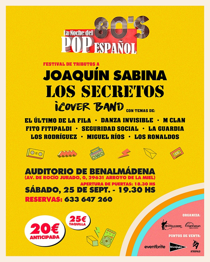 Tributos a Joaquín Sabina , Todo Secretos & Icover image