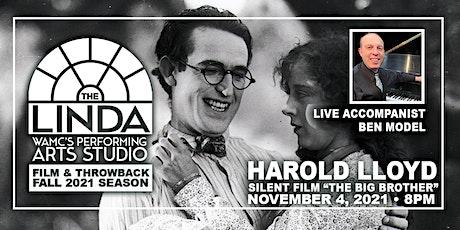 "Harold Lloyd's ""The Kid Brother"" Silent Film w/ Live Accompanist Ben Model tickets"