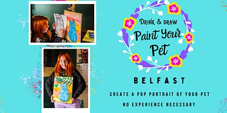 Paint Your Pet Belfast (Saturday 25th Sep 2pm) tickets