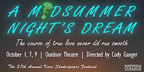 Kern Shakespeare Festival - A Midsummer Night's Dream tickets