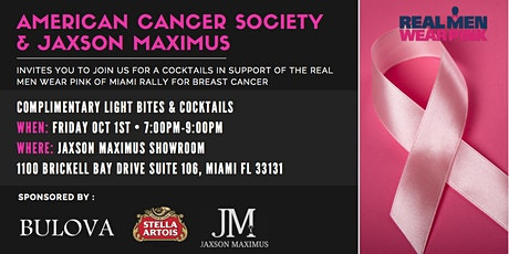 Rally for Breast Cancer Awareness: Cocktails, Networking, & Light Bites tickets