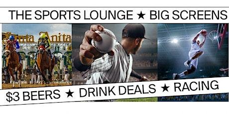 Santa Anita Park's Sports Lounge in Sirona's tickets