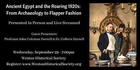 Ancient Egypt and the Roaring 1920s: From Archaeology to Flapper Fashion tickets