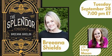 Breeana Shields in conversation with Lizzy Mason tickets