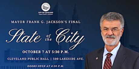 Mayor Frank G. Jackson's Final State of the City Address tickets