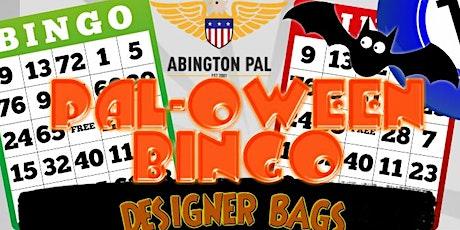 PAL-OWEEN BINGO tickets