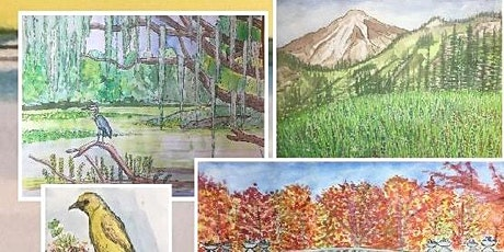 Beauty in Nature Drawing and Watercolor Class UCEDD tickets