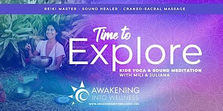 Kids Yoga and Sound Meditation with Mili and Juliana tickets