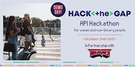 API Hackathon- Demo Day tickets