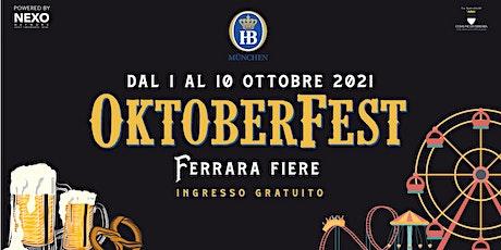 OKTOBERFEST FERRARA | Area Interna biglietti