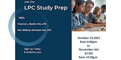 LPC Study Prep tickets
