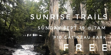 Sunrise Trails : monthly Sunday 7am trail runs (September 2021 edition) tickets