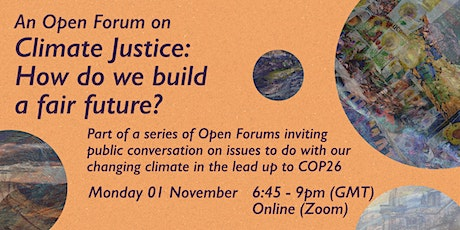 Climate Justice: How do we build a fair future? tickets