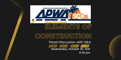 Panel Discussion - Elements of Construction tickets