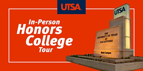 UTSA Honors College In-Person Tour tickets