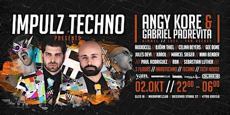 Impulz Techno pres. Angy Kore & Gabriel Padrevita Tickets