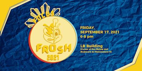 General Meeting #1: FOCUS Frosh billets
