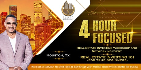 Houston Real Estate Investing Live Workshop tickets