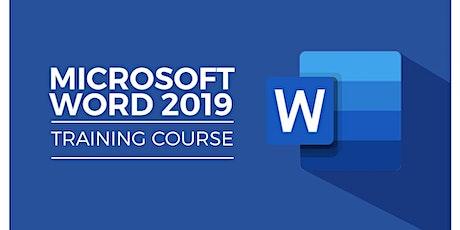 Microsoft Office: Word 2019 Level 1 entradas