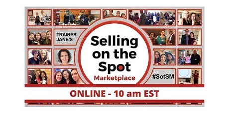 Selling on the Spot Marketplace - ONLINE - Brian Davidson tickets