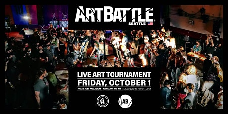 Art Battle Seattle  - October 1, 2021 tickets