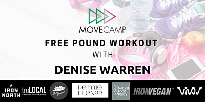 MoveCamp Pound Workout – FREE with Denis Warren