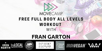 Movecamp  Full Body, All Levels Workout – FREE  with Fran Garton