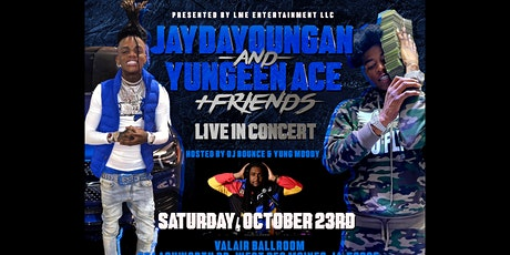 JAYDAYOUNGAN AND YUNGEEN ACE tickets