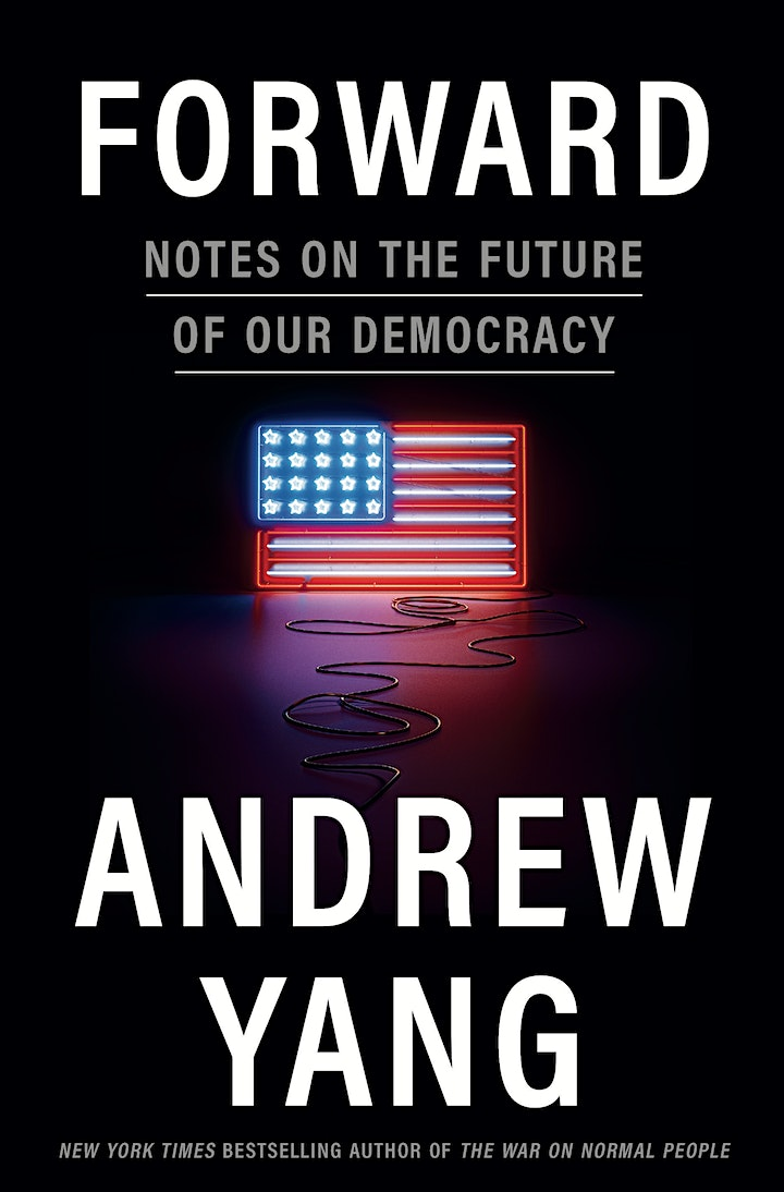 Meet & Get Photo with Andrew Yang for FORWARD at B&N - Fifth Ave, NYC, NY! image