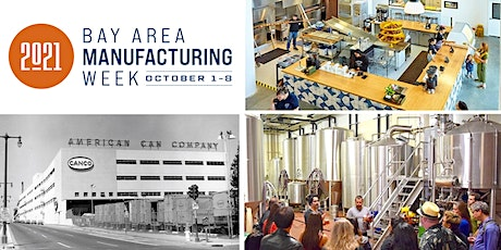 AIC Factory Tour: Daily Driver bagels and Magnolia Brewing Co! - MFG Week tickets