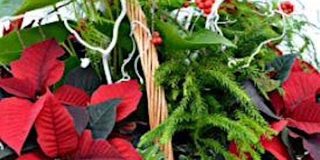 Festive Winter Planter  Workshop tickets