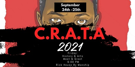 C.R.A.T.A (Civil Rights And The Arts) 2021 History & Arts Meet & Greet tickets