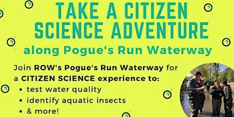 Citizen Science Adventure on Pogue's Run in Spades Park tickets