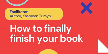 How to finally finish and self-publish your book tickets