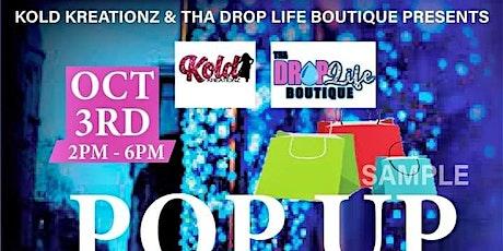 Pop Up&Shop tickets