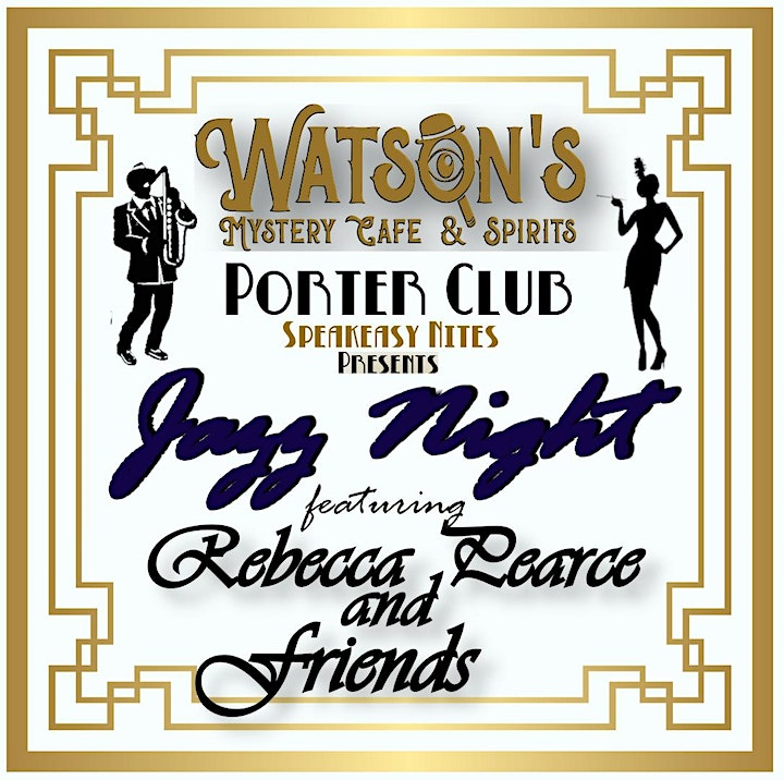 Speakeasy Night featuring Jazz with Rebecca Pearce and Friends image