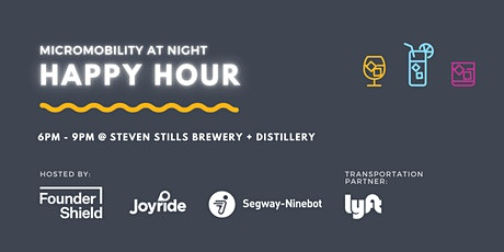 Micromobility at Night Happy Hour tickets