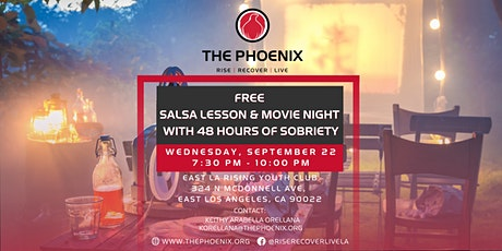 Hispanic Heritage Month: FREE Salsa Lesson & Movie Night! tickets