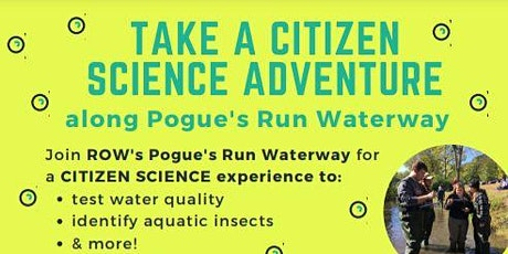 Citizen Science Adventure on Pogue's Run in Brookside Park tickets