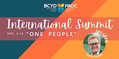 INTERNATIONAL SUMMIT tickets