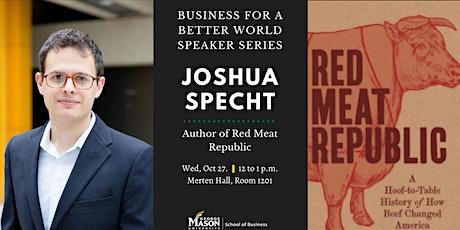 Speaker Series with Joshua Specht tickets