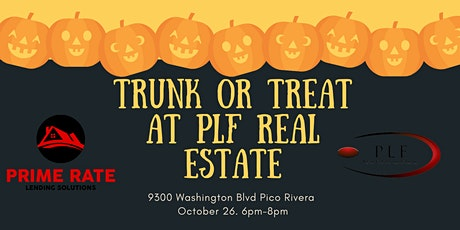 PLF Real Estate Solutions & Prime Rate Lending Presents: TRUNK OR TREAT tickets