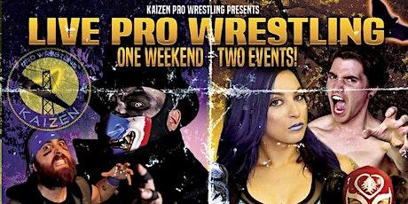 Kaizen Pro Wrestling - 19+ Event Halloween TRICK tickets