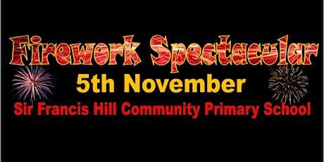 Firework Spectacular @ Sir Francis Hill tickets