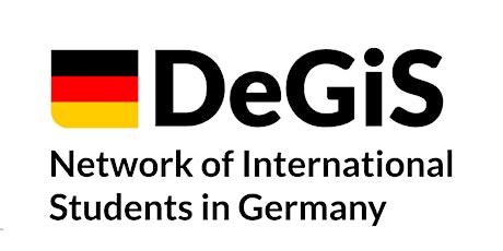 DeGIS Information Session for International Student tickets